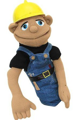 Construction Worker Hand Puppet      -     By: Melissa & Doug