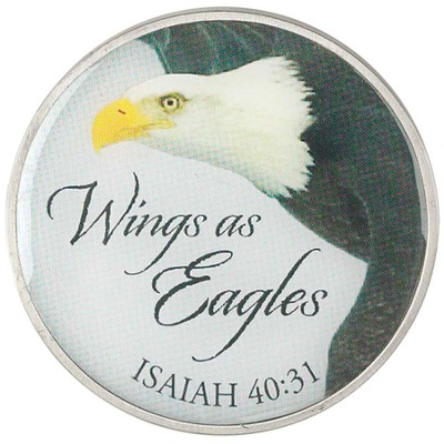 Wings As Eagles Visor Clip  -