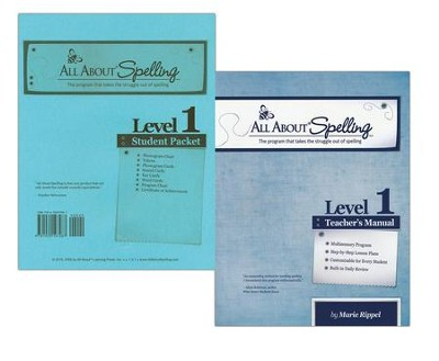 All About Spelling Level 1 (Teacher's Manual & Student Packet)  -     By: Marie Rippel