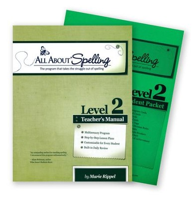 All About Spelling Level 2 (Teacher's Manual & Student Pack)  -     By: Marie Rippel