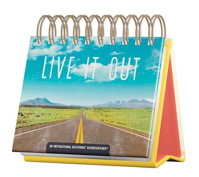 Live It Out DayBrightener Perpetual Calendar  -