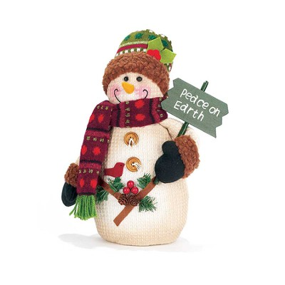 Peace On Earth Snowman  -