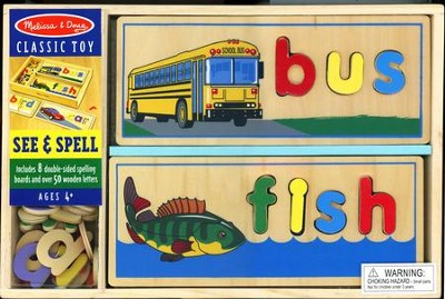See & Spell   -     By: Melissa & Doug