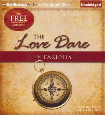 The Love Dare for Parents - unabridged audiobook on CD  -     Narrated By: Adam Verner     By: Stephen Kendrick, Alex Kendrick, Lawrence Kimbrough