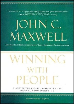 Winning with People Abridged MP3-CD   -     By: John C. Maxwell