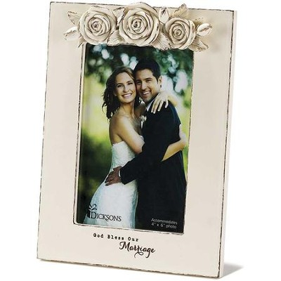 God Bless Our Marriage Photo Frame  -