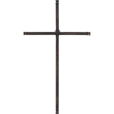 Thin Weathered Wall Cross  -
