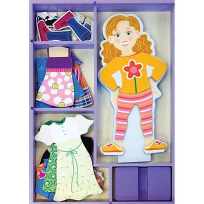 Maggie Leigh Magnetic Dress-Up   -     By: Melissa & Doug