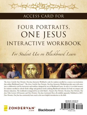 Access Card for Four Portraits, One Jesus Interactive Workbook  -     By: Mark L. Strauss
