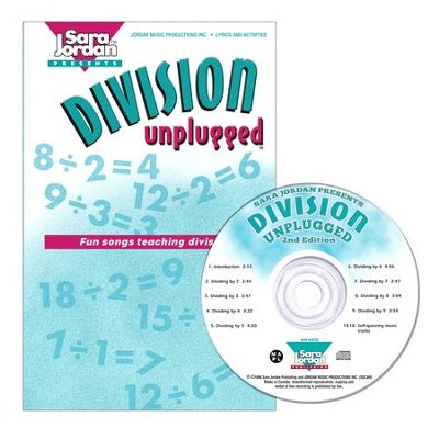 Division Unplugged CD/Book Kit  -     By: Sara Jordan