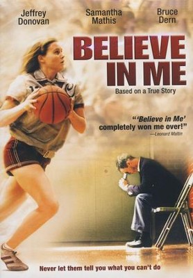 Believe in Me, DVD   -