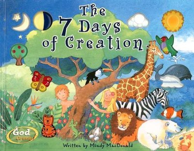 God Counts Series: The 7 Days of Creation   -     By: Mindy MacDonald