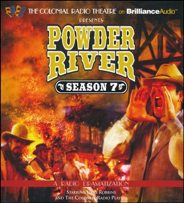 Powder River - Season Seven: A Radio Dramatization - unabridged audiobook on CD  -     Narrated By: Jerry Robbins, The Colonial Radio Players     By: Jerry Robbins