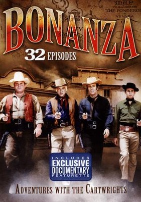 Bonanza: Adventures with the Cartwrights, 32-Episode DVD Set   -