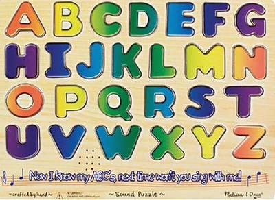 Alphabet Sound Puzzle  -     By: Melissa & Doug