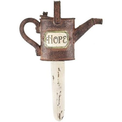 Hope, Watercan Flower Stake  -