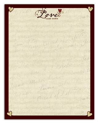 Love Came Down Stationery, Package of 50  -