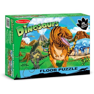 Land of Dinosaurs Floor Puzzle   -     By: Melissa & Doug