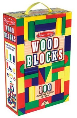 100 Blocks in a Box   -     By: Melissa & Doug
