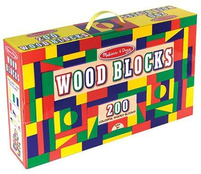 200 Blocks In A Box   -     By: Melissa & Doug