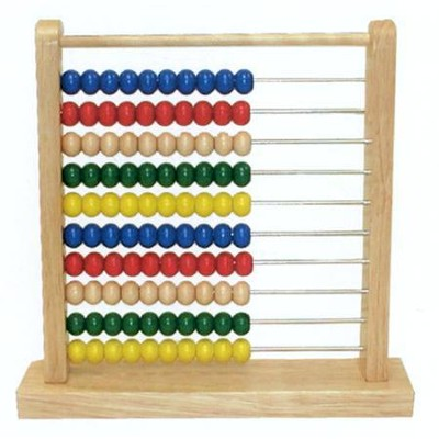 Wooden Abacus   -     By: Melissa & Doug
