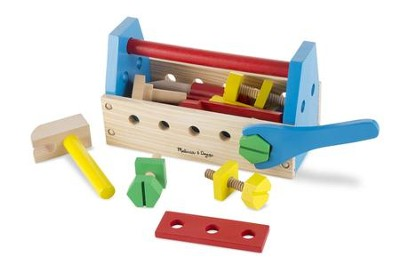 Take-Along Wooden Toolkit   -     By: Melissa & Doug