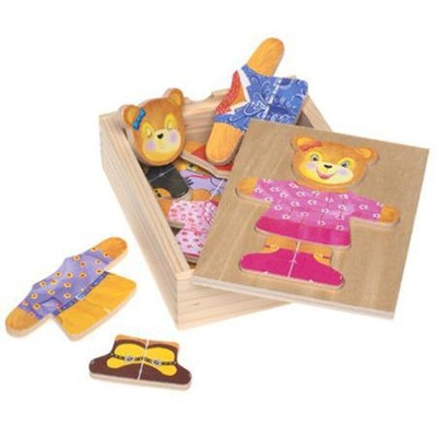 Bear Dress-Up Wood Toy   -     By: Melissa & Doug