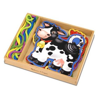 Lace and Trace Farm Animals   -     By: Melissa & Doug
