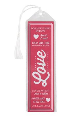 Love Bookmark, Pink  -