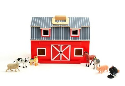 Fold & Go Barn   -     By: Melissa & Doug