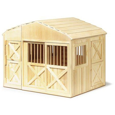 Folding Horse Stable   -     By: Melissa & Doug