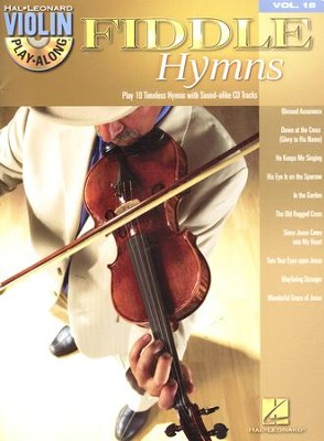 Fiddle Hymns (Violin Play-Along Book/Audio online)   -
