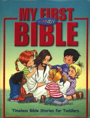 My First Handy Bible: Timeless Bible Stories for Toddlers    -     By: Cecilie Olesen