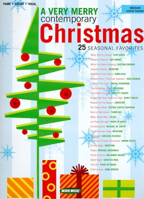 A Very Merry Contemporary Christmas, Songbook   -