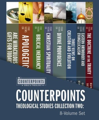 Counterpoints Theological Studies Collection Two: 8-Volume Set  -     By: Stanley N. Gundry, Steven B. Cowan