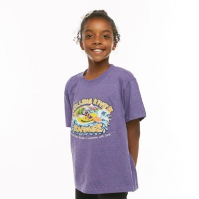 Rolling River Rampage: Child T-Shirt, X-Small  -