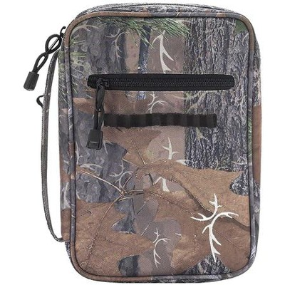 Truth Hunter Bible Cover, Camo, Large  -
