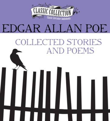 Edgar Allan Poe - Collected Stories and Poems - unabridged audiobook on CD  -     By: Chuck Black