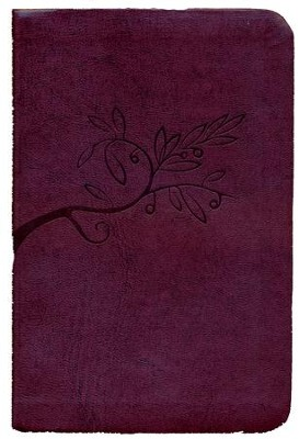 The Book of Psalms for Worship, Slim Mini, Burgundy  -