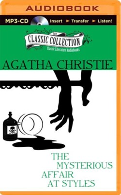 The Mysterious Affair at Styles - unabridged audiobook on MP3-CD  -     Narrated By: Ralph Cosham     By: Agatha Christie