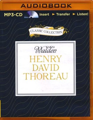 Walden - unabridged audiobook on MP3-CD  -     Narrated By: Adam Morgan     By: Henry David Thoreau