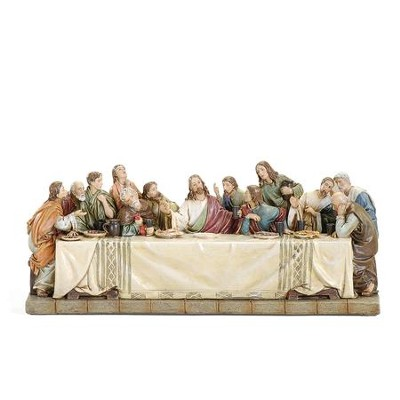 Last Supper Tabletop Figure  -