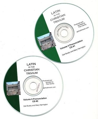Latin, Vol II Pronunciation CD Latin in the Christian Trivium  -     By: Gail Busby, Mary Harrington