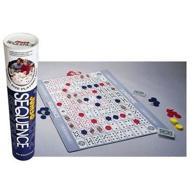 Jumbo Sequence Game in a Tube Pack   -