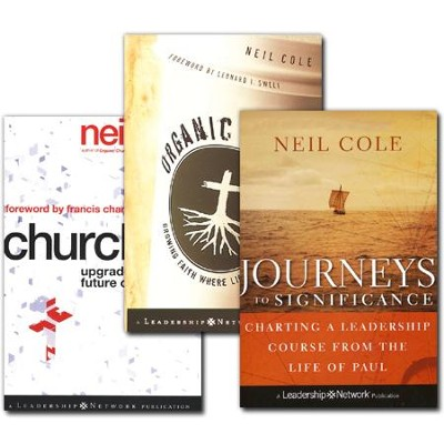 Neil Cole Pack, 3 Volumes   -     By: Neil Cole