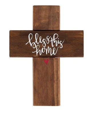 Bless This Home Wall Cross  -     By: Unika Collections