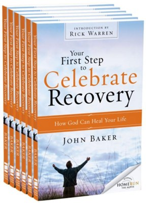 Your First Step To Celebrate Recovery Outreach Pack, 6 Pack   -     By: John Baker