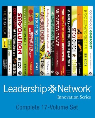 Leadership Network Innovation Series Pack  -     By: Larry Osborne, Dave Ferguson, Dino Rizzo