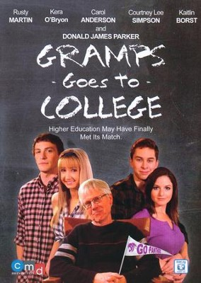 Gramps Goes to College, DVD   -