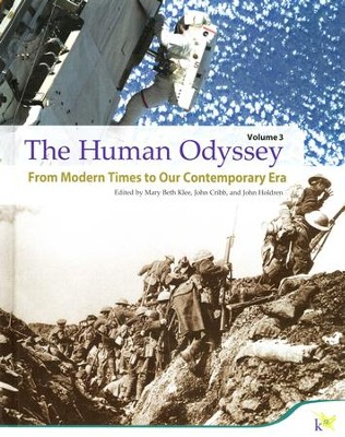 The Human Odyssey, Volume 3: Modern World Studies   -